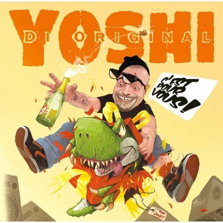 """Album Cd """"Yoshi - C'est pour vous"""""""