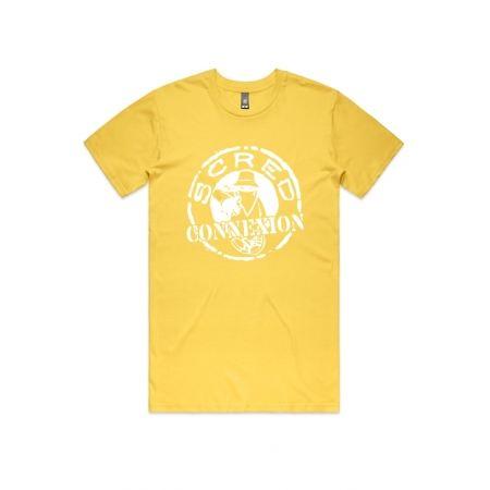 """T-Shirt """"Classico"""" Jaune et blanc"""