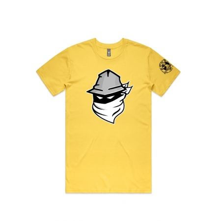 Tshirt Visage 2020 Jaune