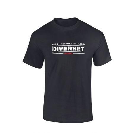 Tshirt Noir Diverset