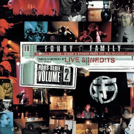album vinyl fonky  family- hors serie volume 2 - Live & Inédits