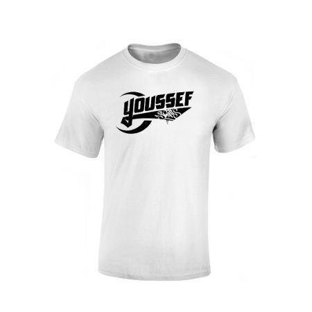 Tshirt Youssef Swatts blanc