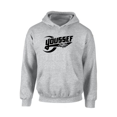 Sweat Capuche Youssef Swatts gris