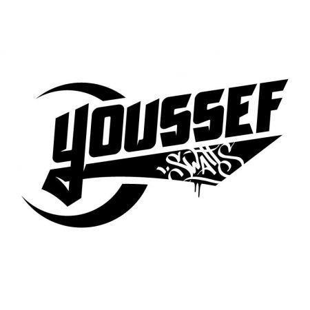 Tshirt Youssef Swatts noir