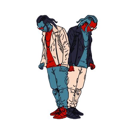 T Shirt Noir by Sims - YOUSSOUPHA