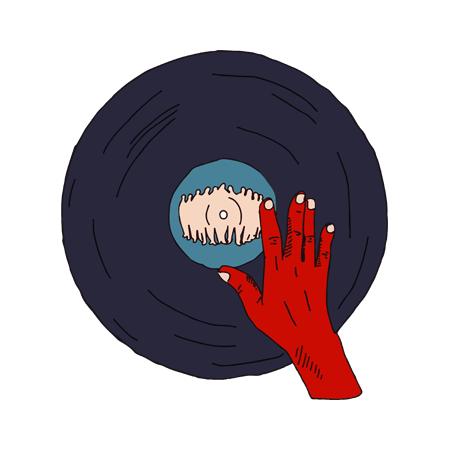 T Shirt Noir by Sims - Dj Quick