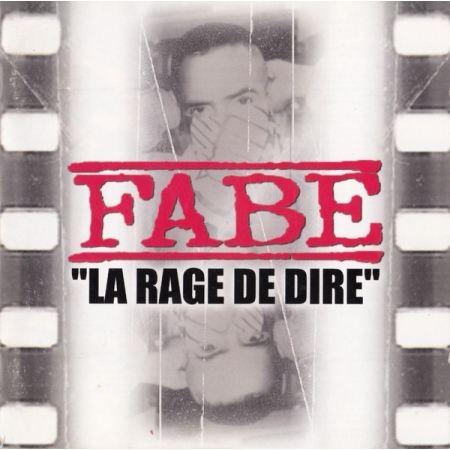 TShirt Noir Fabe La Rage