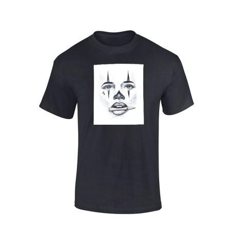 Tshirt Versil Visage noir