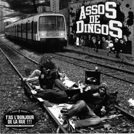 sweat capuche Freko ATK Assos de Dingos Noir