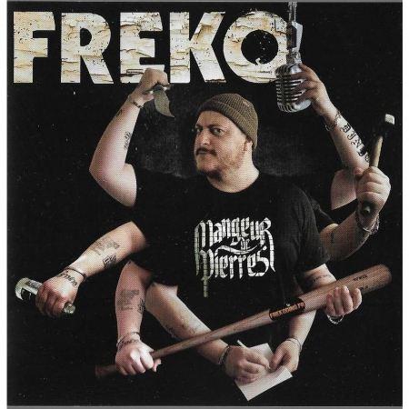sweat capuche Freko Mangeur Noir