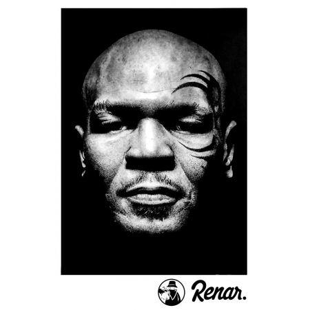 T shirt Renar Tyson noir