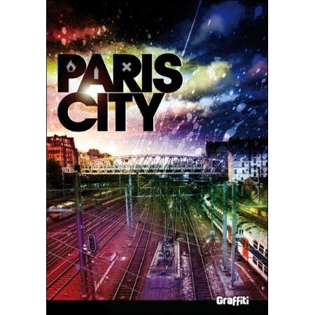 """Livre 300 pages """"Paris City"""" Graffiti"""