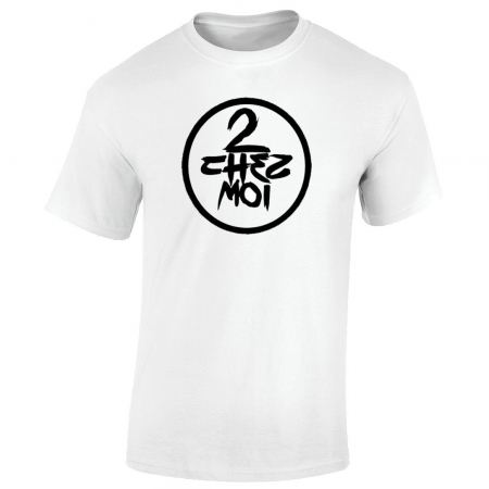 T-Shirt blanc  demi portion - 2 chez moi
