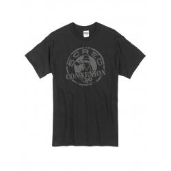 Tshirt Classico Noir Gris de scred connexion sur Scredboutique.com
