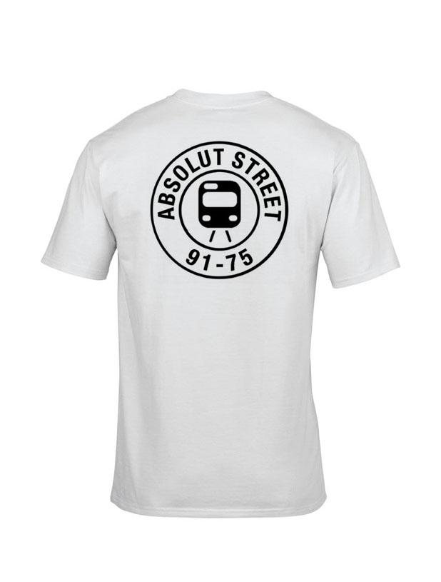 T Shirt Absolut Street Blanc de absolut street sur Scredboutique.com