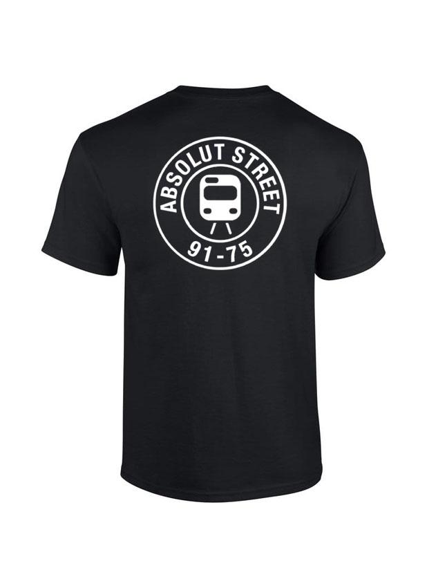 T Shirt Absolut Street Noir de absolut street sur Scredboutique.com