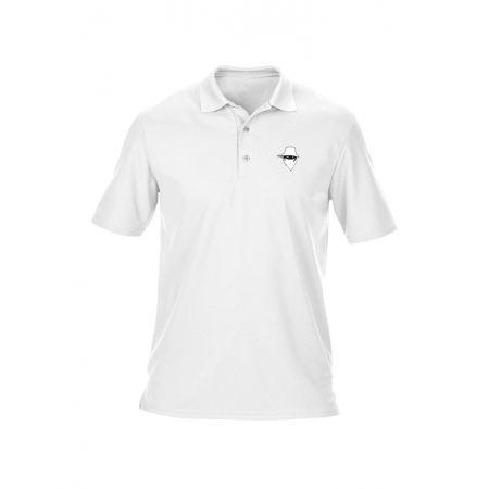 Polo Blanc Dernier Visage