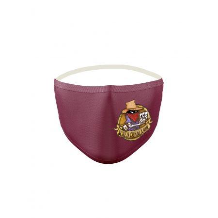 Masque Bordeaux Poker