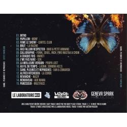 """Album Cd """"Effet Papillon Prod - Sang, pleurs et reproches"""" de  sur Scredboutique.com"""