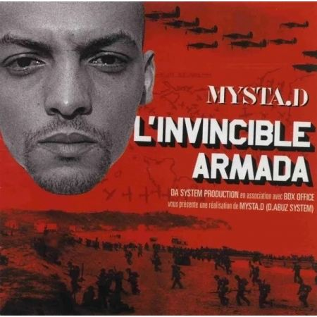 """Album Cd """"Mysta.D - L'invincible Armada"""""""