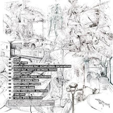 """Album Cd """"Kens - Esquisses"""""""