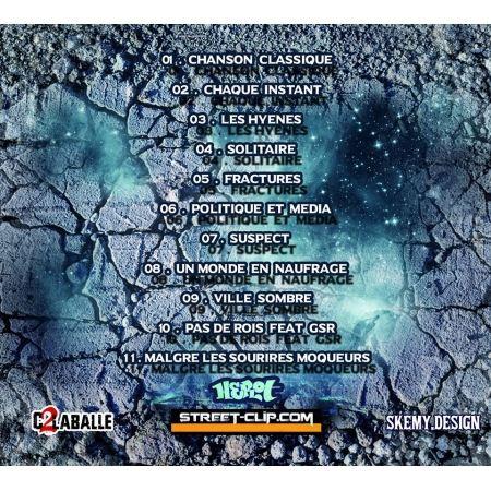 "Album Cd ""Herot - Jusqu'à l'infini"""