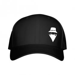 Casquette Noire Visage de  sur Scredboutique.com