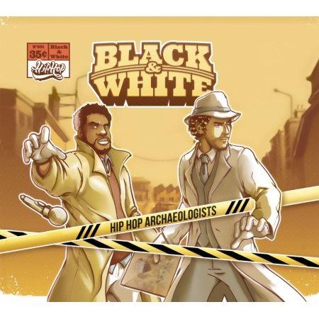 "Album Cd Black&White ""Hip Hop Archaeologists"