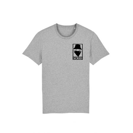 T Shirt Gris Visage Box