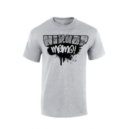 Tshirt Yoshi Hip Hop Momo Paint Gris