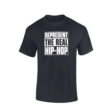Tshirt Represent Real HH noir