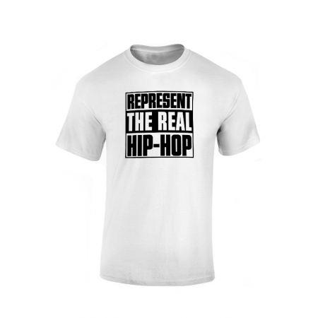Tshirt Represent Real HH Blanc
