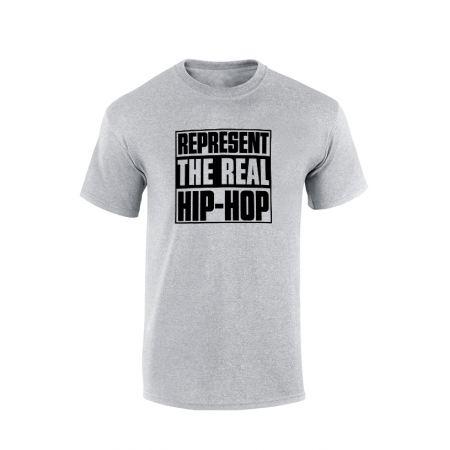 Tshirt Represent Real HH Gris