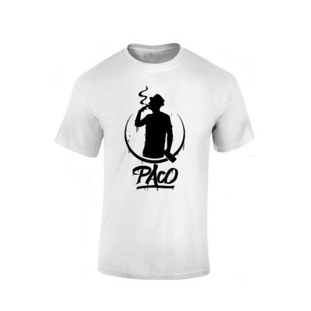 T-Shirt Paco Blanc