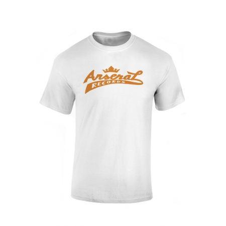 """T-Shirt la cliqua """"Arsenal records"""" Blanc"""