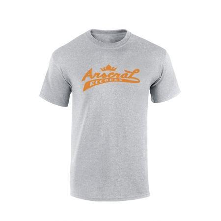 """T-Shirt la cliqua """"Arsenal records"""" Gris"""