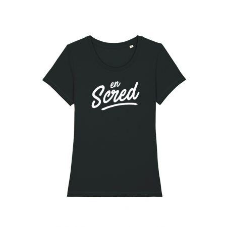 Tshirt Femme Noir En scred