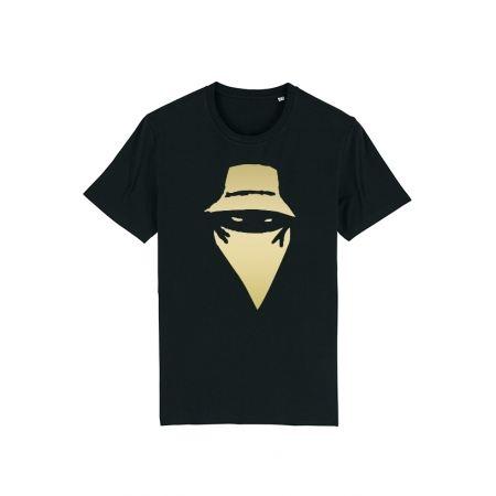 Tshirt Noir Visage