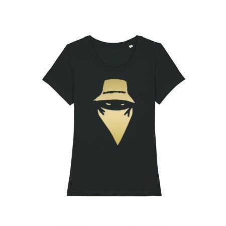 Tshirt Femme Noir VIsage