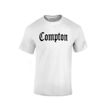 Tshirt Blanc Compton