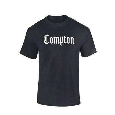 Tshirt Noir Compton