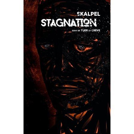 """Livre Skalpel """"Stagnation suivi de tuer"""""""
