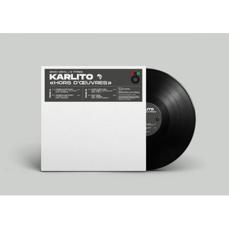 """Maxi Vinyle """"Karlito - Hors d'oeuvres"""""""
