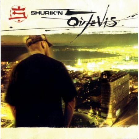 "Album cd Shurik'n ""Ou je vis"""