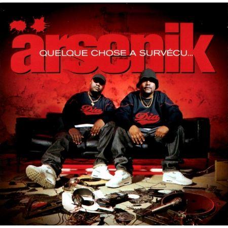 """Album Cd """"Arsenik"""" - Quelque chose à survécu"""