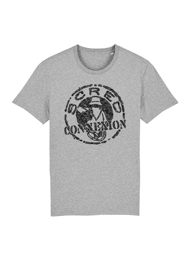 Tshirt Classico gris x Kamestria de scred connexion sur Scredboutique.com