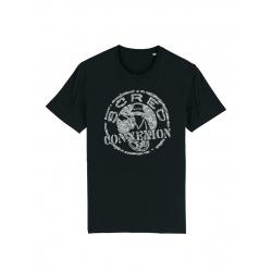 Tshirt Classico noir x Kamestria de scred connexion sur Scredboutique.com