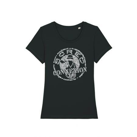 Tshirt Classico noir femme x Kamestria