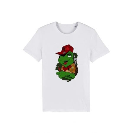 Tshirt Franklin x TRN Blanc