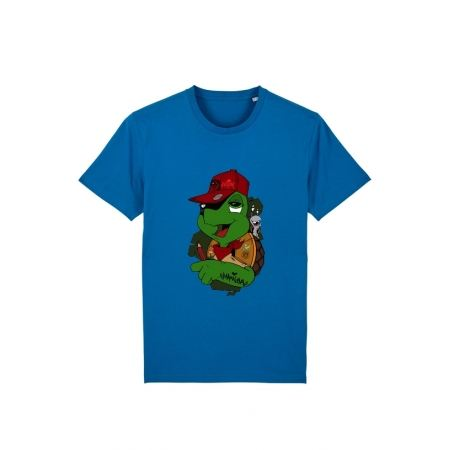 Tshirt Franklin x TRN Bleu